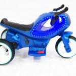 אופנוע חלל לילדים 6V תאורת LED משגעת! קטן 3