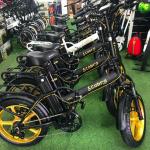 אופניים חשמליות קוברה פאט חישוקי מגנזיום 48V 19AH קטן 2