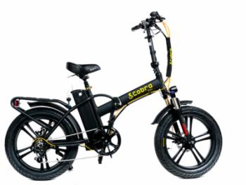 אופניים חשמליות קוברה פאט חישוקי מגנזיום סוללה 48V-19