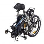 אופניים חשמליים מתקפלים BAGI BIKE CLASSIC 36V 10AH קטן 2