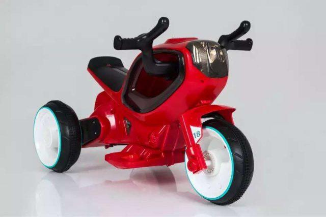 אופנוע חלל לילדים 6V תאורת LED משגעת! 4