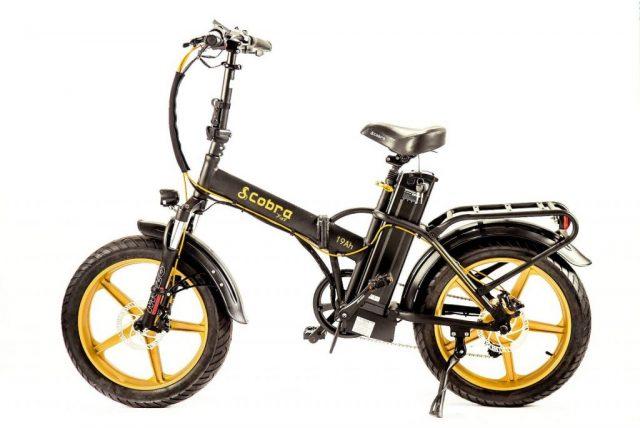 אופניים חשמליות קוברה פאט חישוקי מגנזיום קטן