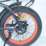 אופניים חשמליים EXTREME מונסטר 15.6AH FAT BIKE 48V קטן 3
