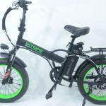 אופניים חשמליים EXTREME מונסטר 15.6AH FAT BIKE 48V קטן 2