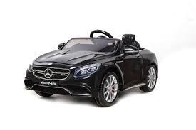 רכב ממונע 12V מרצדס S63 AMG Mercedes 3