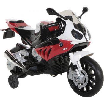אופנוע חשמלי 12V BMW S1000 RR גלגלי גומי