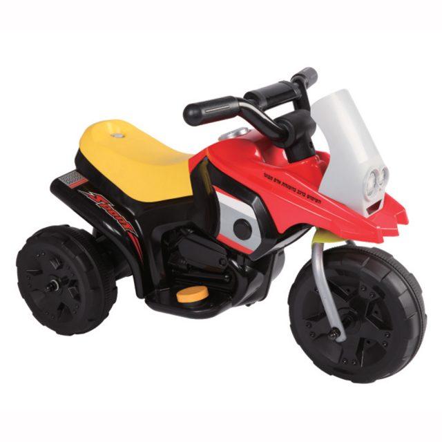 אופנוע חשמלי לילדים 6V דגם JUCK גו'ק 2