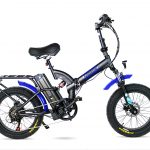 אופניים חשמליים מתקפלים RAINBOW FATTY HD MAG 48V קטן 2