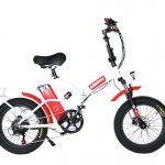 אופניים חשמליים מתקפלים RAINBOW FATTY HD MAG 48V קטן 3