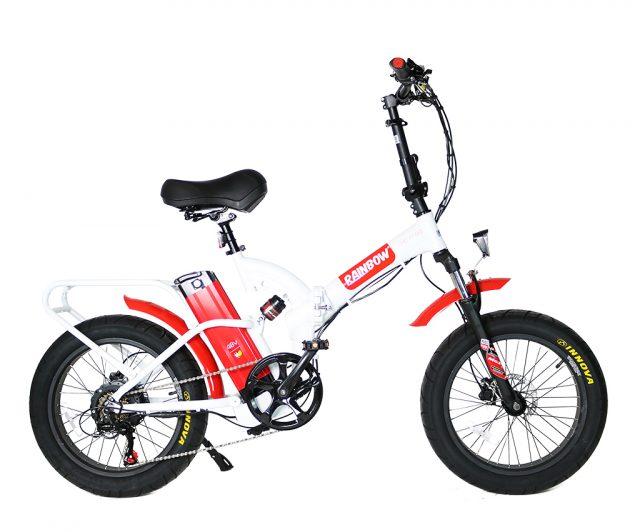 אופניים חשמליים מתקפלים RAINBOW FATTY HD MAG 48V 3