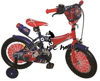 """אופניים לילדים ספיידרמן במידה 12"""""""