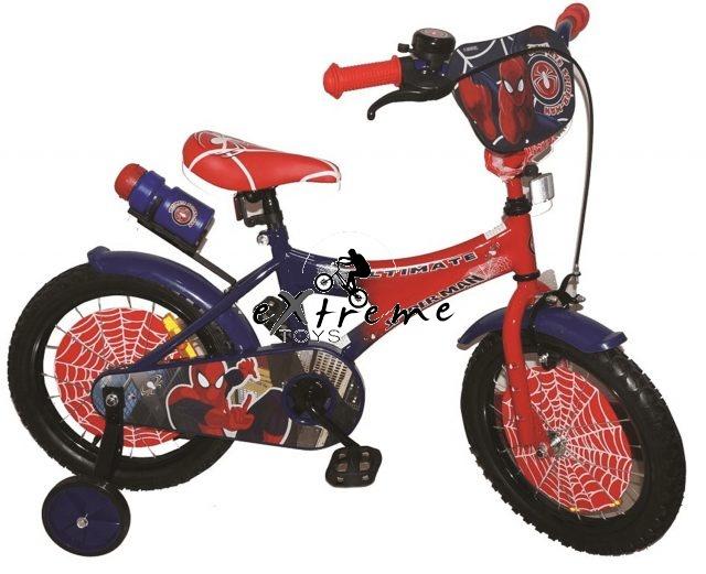 """אופניים לילדים ספיידרמן במידה 12"""" 1"""