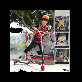 קורקינט אקסטרים עם 3 גלגלים Z7 smartrike