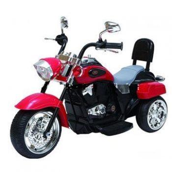 אופנוע הארלי וולט אדום 6v