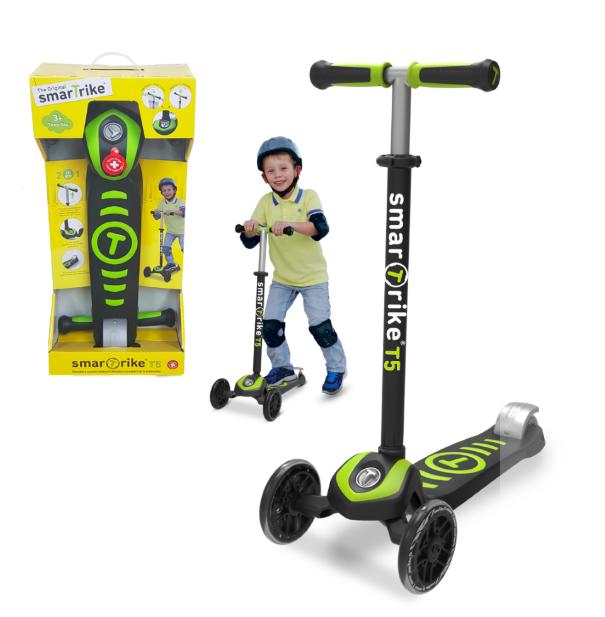 סקוטרים  T5 scooter ירוק / סגול 4