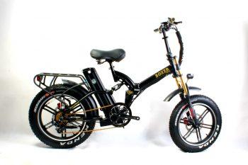 אופניים חשמליים BOXER GRAND 48V הכוללים כידון כפול!