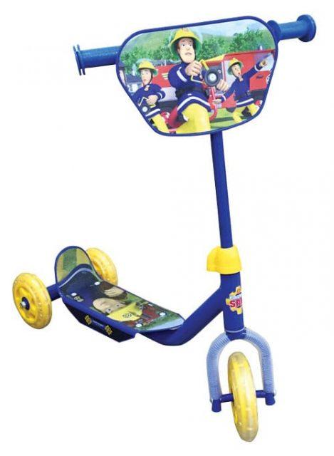 קורקינט 3 גלגלים לילדים של סמי הכבאי-Fireman Sam 1