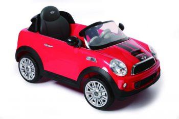 מכונית ממונעת MINI COOPER 12V – אדום רול פליי