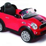 מכונית ממונעת MINI COOPER 12V – אדום רול פליי קטן 1
