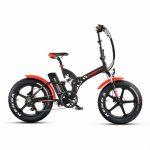 אופניים חשמליים ביג פוט 48V עם שיכוך מלא Smart Bike Big Foot Hybrid קטן 1