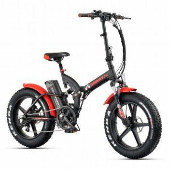 אופניים חשמליים ביג פוט 48V עם שיכוך מלא Smart Bike Big Foot Hybrid