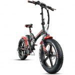 אופניים חשמליים ביג פוט 48V עם שיכוך מלא Smart Bike Big Foot Hybrid קטן 3