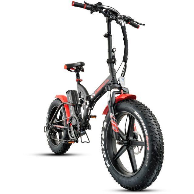 אופניים חשמליים ביג פוט 48V עם שיכוך מלא Smart Bike Big Foot Hybrid 3