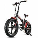 אופניים חשמליים ביג פוט 48V עם שיכוך מלא Smart Bike Big Foot Hybrid קטן 4