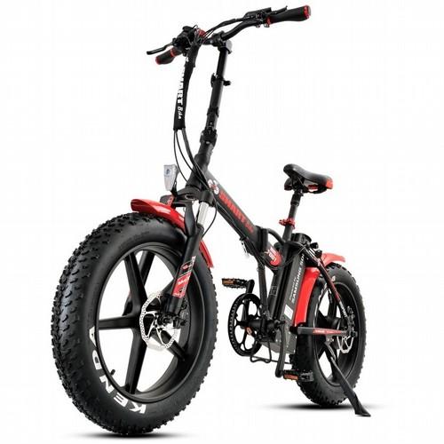 אופניים חשמליים ביג פוט 48V עם שיכוך מלא Smart Bike Big Foot Hybrid 4