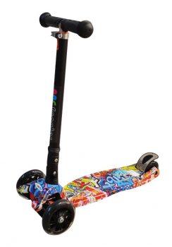 קורקינט 3 גלגלים עם אורות (scooter)