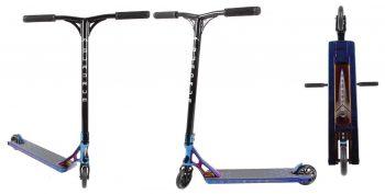 קורקינט פעלולים סקוט AO Quadrum 3 Complete Scooter Burntpipe *Aluminum Fork Upgrade*