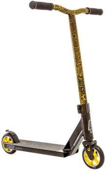 קורקינט פעלולים Crisp Blaster Mini Black Gold Cracking Scooter