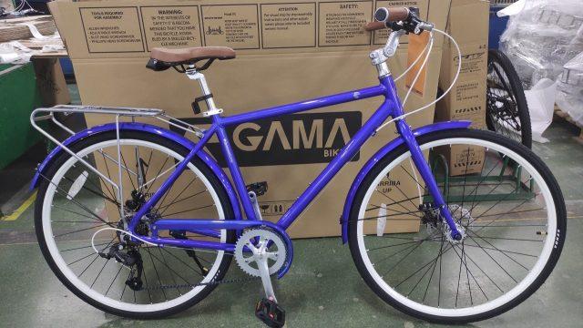 אופני עיר GAMA לגברים (/נשים) שלדה נמוכה 1