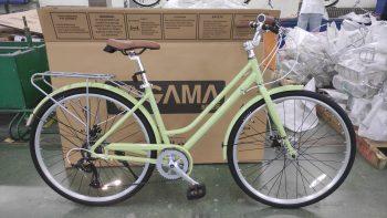אופני עיר GAMA לנשים שלדה נמוכה