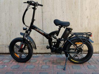 אופניים חשמליים ALPHA קופרה 20AH 48V