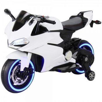 אופנוע ממונע לילדים 12V לדים בגלגלים