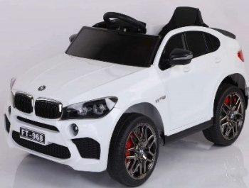 מכונית לילדים BMW 12V עם גלגלי EVA