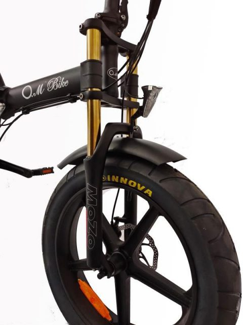 אופניים חשמליים  O.M.BIKE 18AH 48V שיכוך מלא 6
