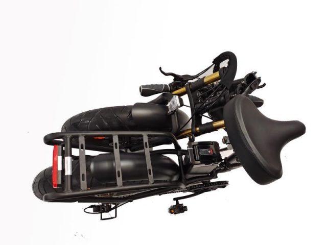 אופניים חשמליים  O.M.BIKE 18AH 48V שיכוך מלא 5