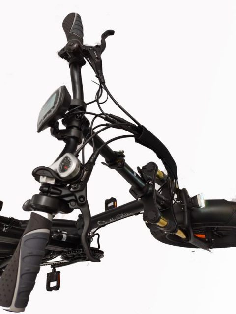 אופניים חשמליים  O.M.BIKE 18AH 48V שיכוך מלא 3