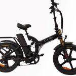אופניים חשמליים  O.M.BIKE 18AH 48V שיכוך מלא קטן 1