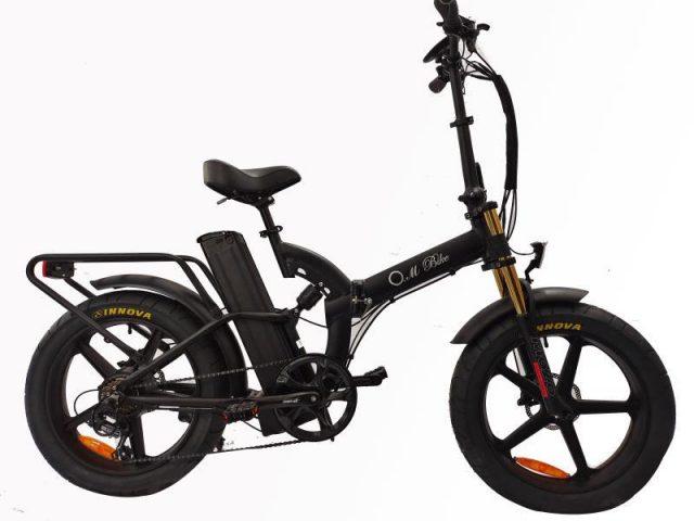 אופניים חשמליים  O.M.BIKE 18AH 48V שיכוך מלא 4